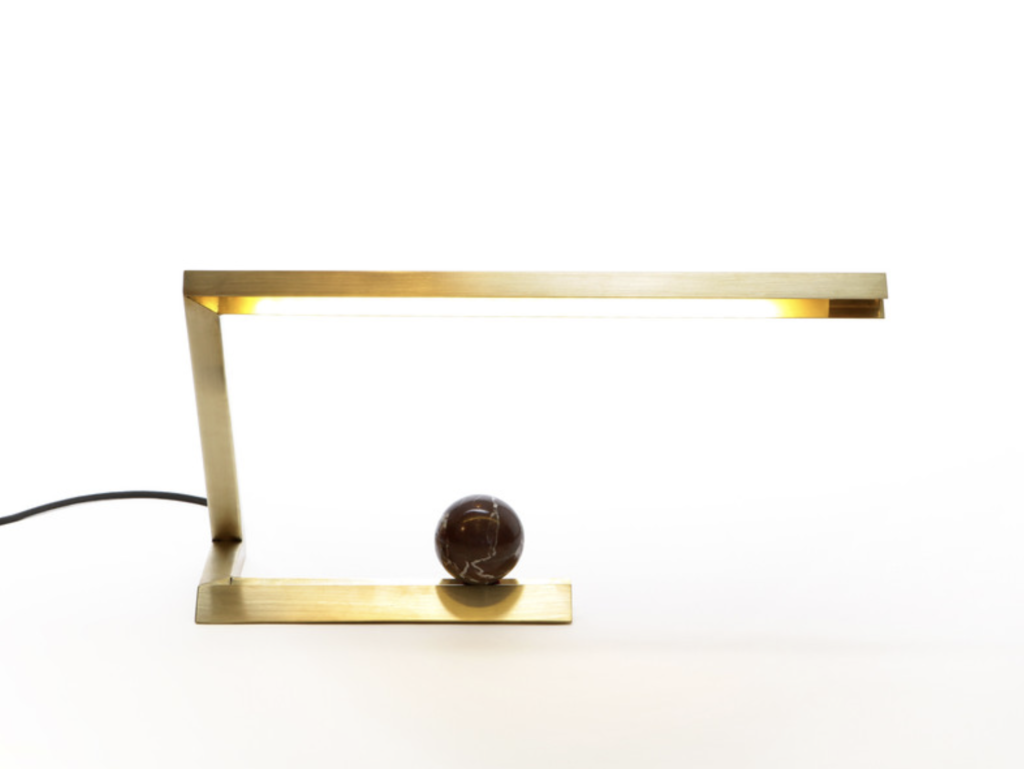 Oud Resident Brass Lamp Office Desk Approved Magazine Mag